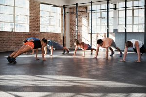 Driven Corporate Wellness Fitness Class