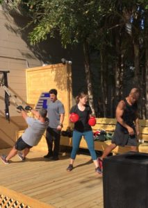 Outside personal training