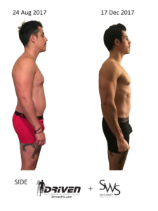 Before and After Workouts Driven Fit SWS Tampa