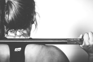 Woman Weightlifting Driven Fitness Studio