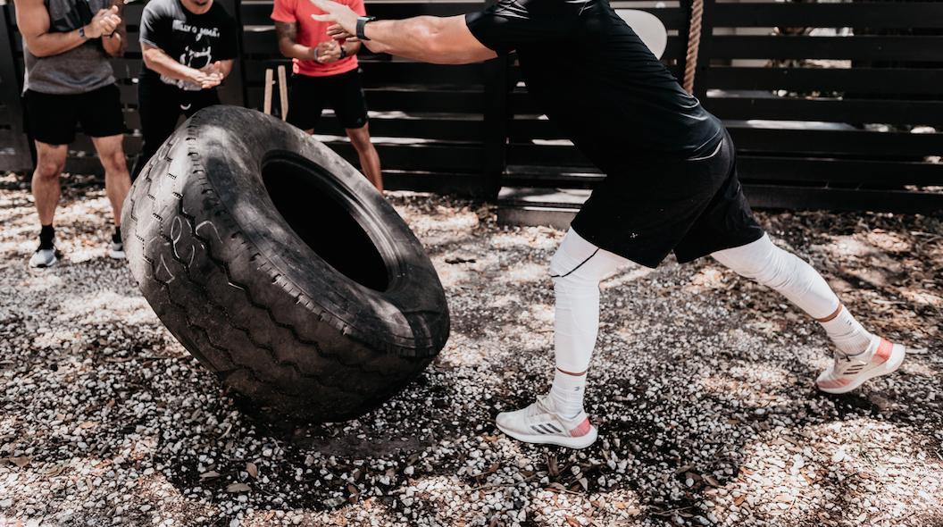 Flipping Tire No Sciatica Pain DrivenFit