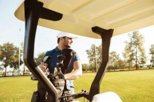 golfer after massage at drivenfit sws